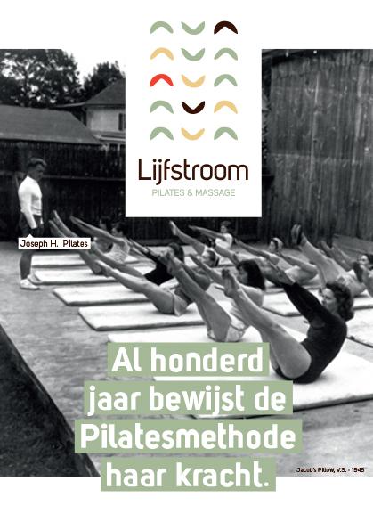 Flyer Lijfstroom voorkant Lijfstroom   nieuw in Tilburg