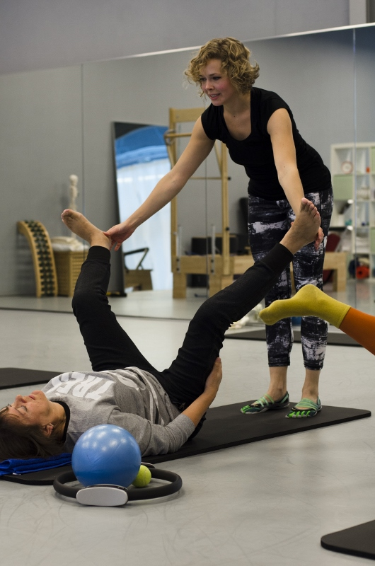 Lijfstroom Pilates Tilburg adductoren stretch correctie