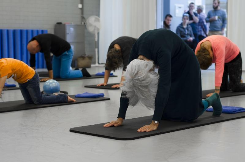 Lijfstroom Pilates Tilburg proefles catstretch