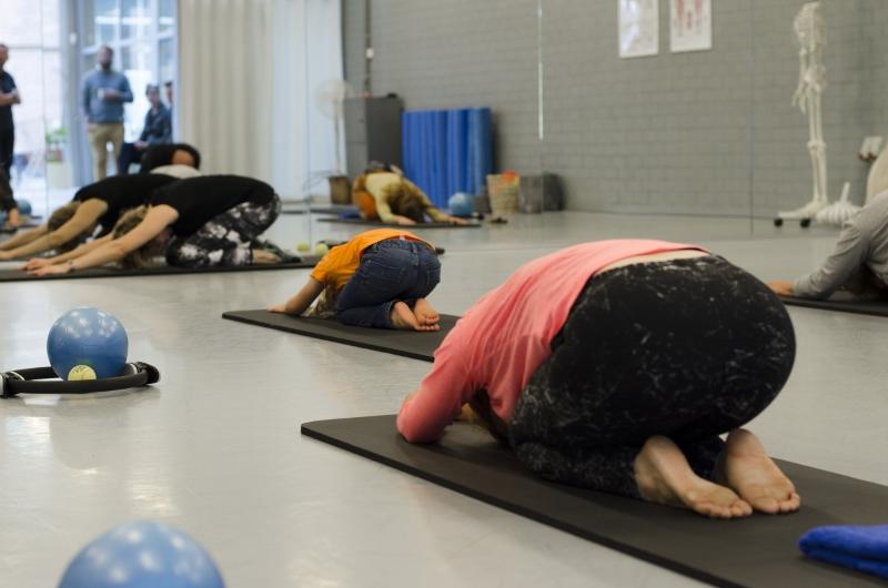 Lijfstroom Pilates Tilburg proefles childpose